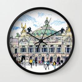 Palais Garnier, Paris Wall Clock