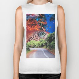 Keep Your Eye on the Road Biker Tank