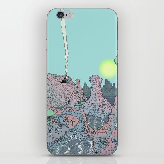 There be Dragons iPhone & iPod Skin