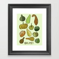 Good Gourd! Framed Art Print