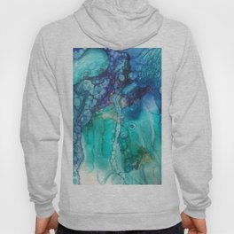 Under the Sea in alcohol inks Hoody