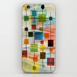 Mid-Century Modern Art 1.3 -  Graffiti Style iPhone Skin