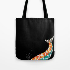 For the Love of Whales Tote Bag