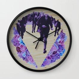 The Rush Wall Clock