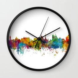 Victoria Canada Skyline Wall Clock