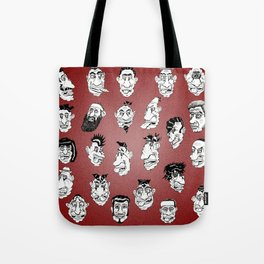 Shafted! Character sheet Tote Bag