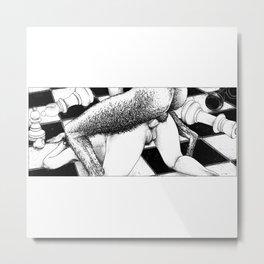 asc 791 - La reine renversée (Pan's endgame) Metal Print