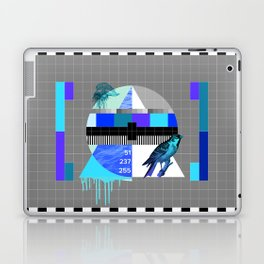 Waiting for the show to begin (Test Pattern 4) Laptop & iPad Skin
