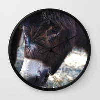 best friend Wall Clocks featuring Best Friend by ABananaPepper