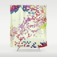 maps Shower Curtains featuring Maps by MonsterBrown