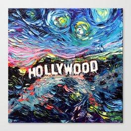 van Gogh Never Saw Hollywood Canvas Print
