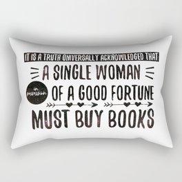 Jane Austen's Office Rectangular Pillow