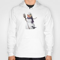 snowman Hoodies featuring Snowman by Keyspice