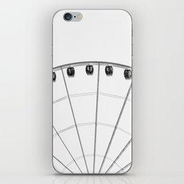 The wheel back white 1 iPhone Skin