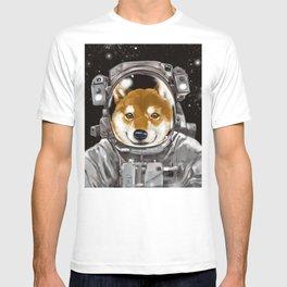 Astronaut Shiba Inu T-shirt