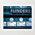 Flinders Street Station Fine Art Print by sidecarphoto