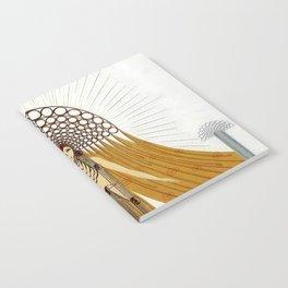 """Art Deco Oriental Design """"Café Foujita"""" Notebook"""