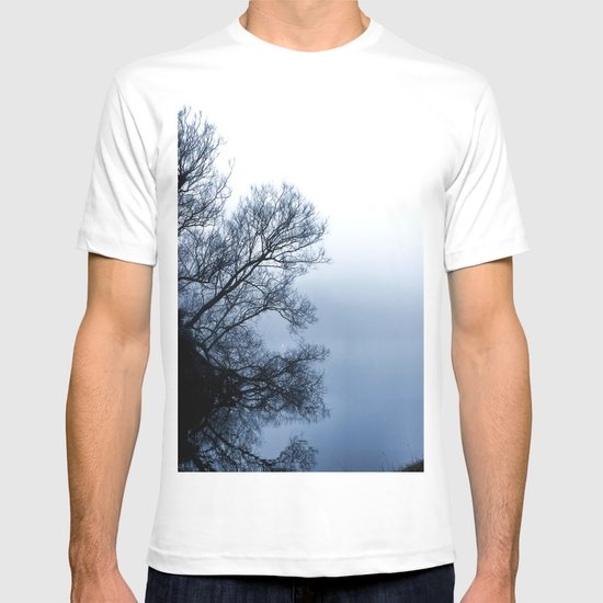 Swans in the Mist T-shirt