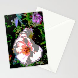 Melted Flowers Stationery Cards
