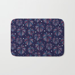 Star Spangled Night Bath Mat