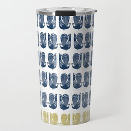 Peacocks Travel Mug