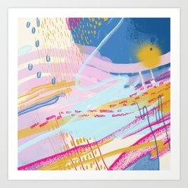 Totemo Genki Art Print