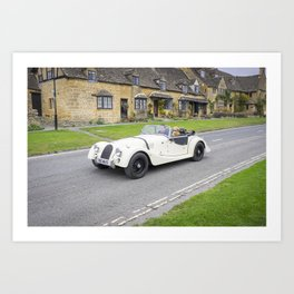 beautiful cotwolds countryside Art Print