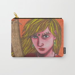 Plank Girl Carry-All Pouch