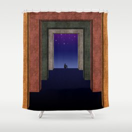 Halls of Solitude Shower Curtain