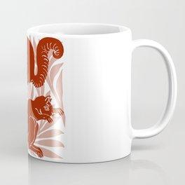 """William De Morgan """"Squirrels"""" 1. Coffee Mug"""