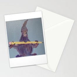 Pencil Nibbler Stationery Cards