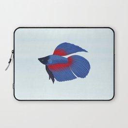 betta splendens royal blue male Laptop Sleeve