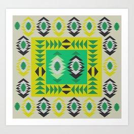 Fresh ethnic decor Art Print