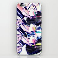 80s iPhone & iPod Skins featuring 80s Workout by Cassandra Siemon C.M. Laserfield