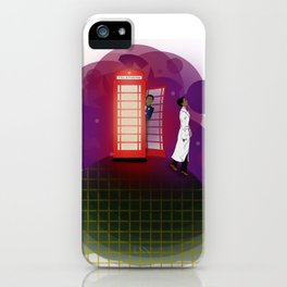 Community Inspector Spacetime  iPhone Case