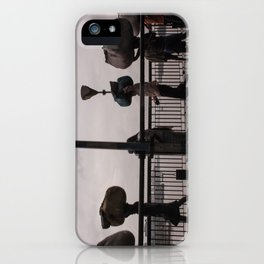 On The Move iPhone Case