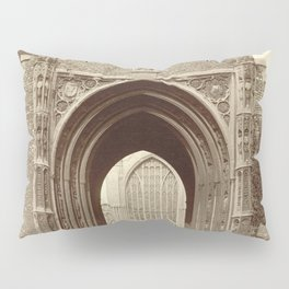 Norwich Cathedral. Erpingham Gate Pillow Sham