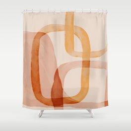 The Desert Shapes Shower Curtain
