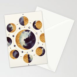 Lunar Light Stationery Cards