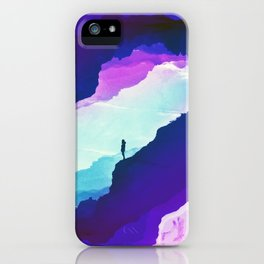 Violet dream of Isolation iPhone Case