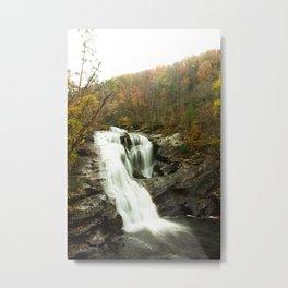 Bald River Falls, Cherokee National Forest (2/3) Metal Print