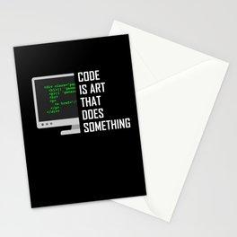 Coder Debugging Code Programmer Programming Gift Stationery Cards