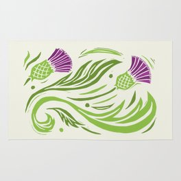 Thistle - Color Rug
