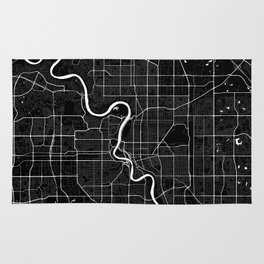Edmonton - Minimalist City Map Rug