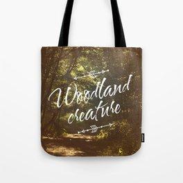 Woodland creature Tote Bag