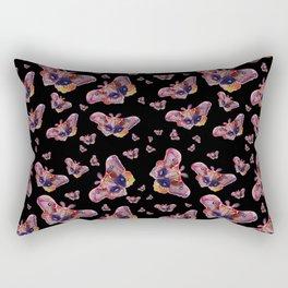 Glowy Moth Rectangular Pillow
