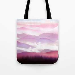 Candy Floss Mist Tote Bag