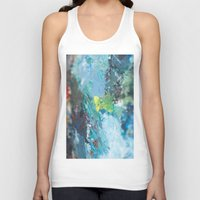 oil Tank Tops featuring OIL COLOURS by plutonic art