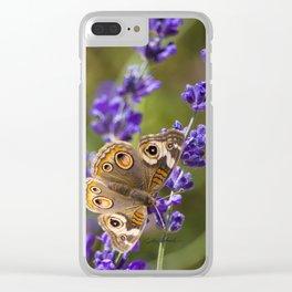 Lavender Landing Clear iPhone Case