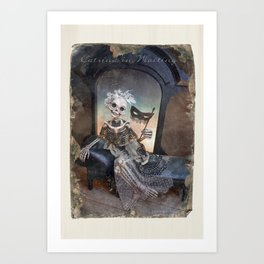 Rucus Studio Catrina In Waiting Art Print